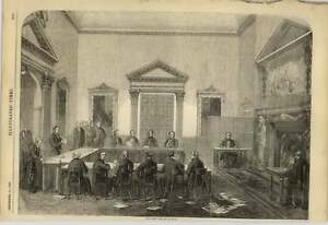 1858-The-New-Indian-Council-At-Session