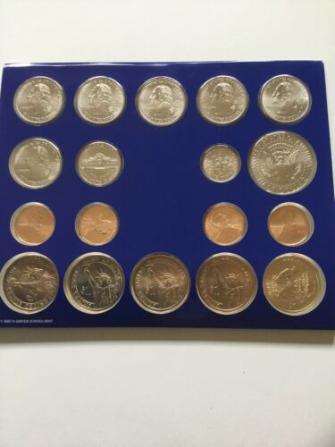 2009 US Mint Uncirculated P /& D Complete Coin Set Unopened Box