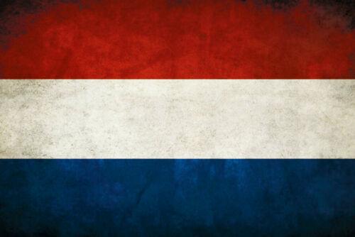Flagge Flag Niederlande Holland Blechschild Schild Tin Sign 20 x 30 cm CC0494
