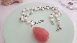 Tous-collar-perlas-con-cuarzo-rosa-grande-collier-necklace-una-autentica-joya