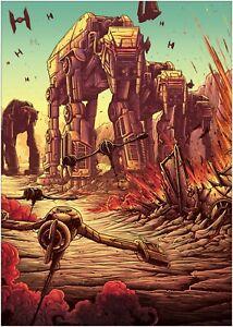 Godzilla Large Movie Poster Art Print Maxi A1 A2 A3 A4