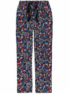 SUPERMAN-MENS-LOUNGEPANTS-PYJAMA-BOTTOMS