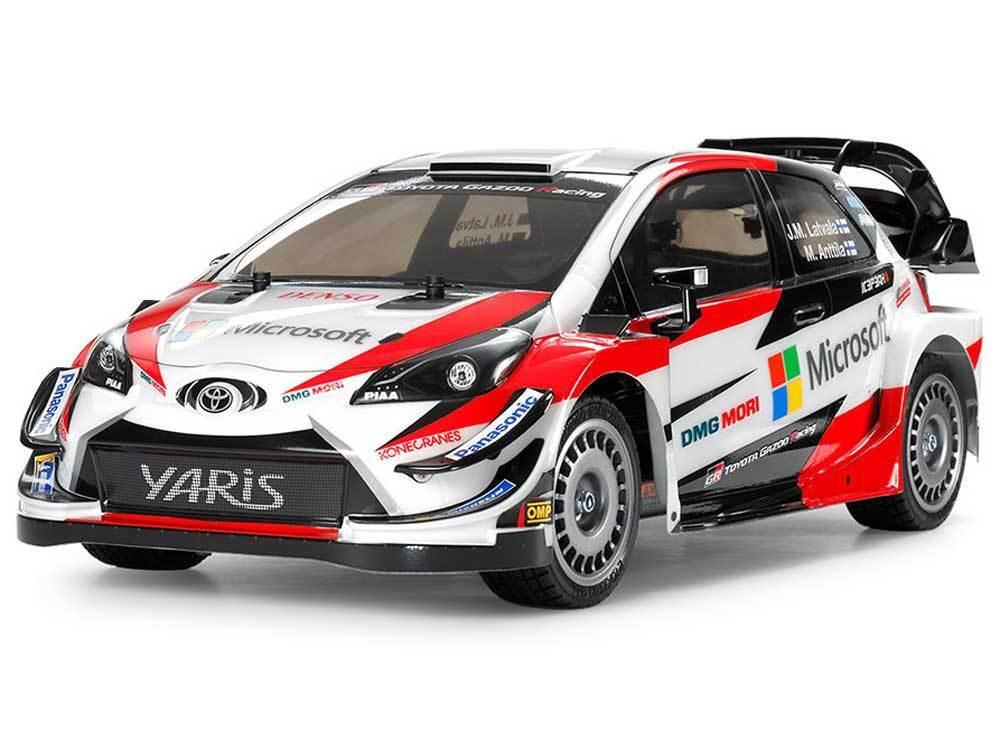 58659 Tamiya Toyota Gazoo Racing WRC TT-02 Kit w BRUSHLESS LIPO COMBO DEAL