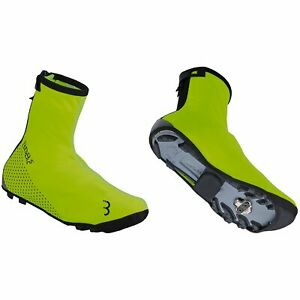 Neon Yellow BBB WaterFlex Cycling Overshoes EUR 47-48