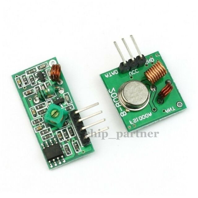 315Mhz RF Transmitter and Receiver Kit Wireless Module for Arduino/ARM/MCU WL