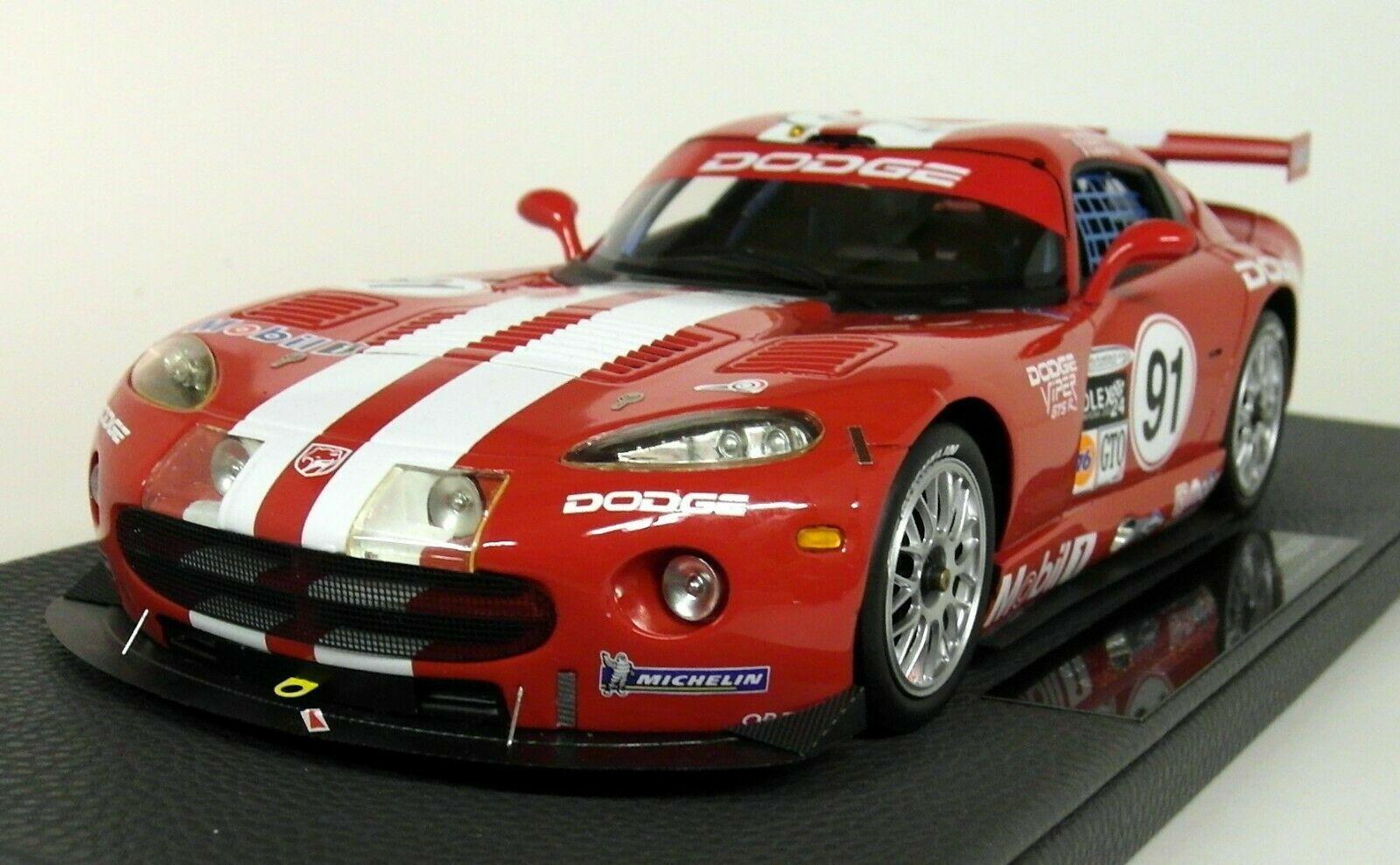 Top Marques 42B 1 18 Scale Dodge Chrysler Viper GTS-R Oreca Daytona Winner 2000
