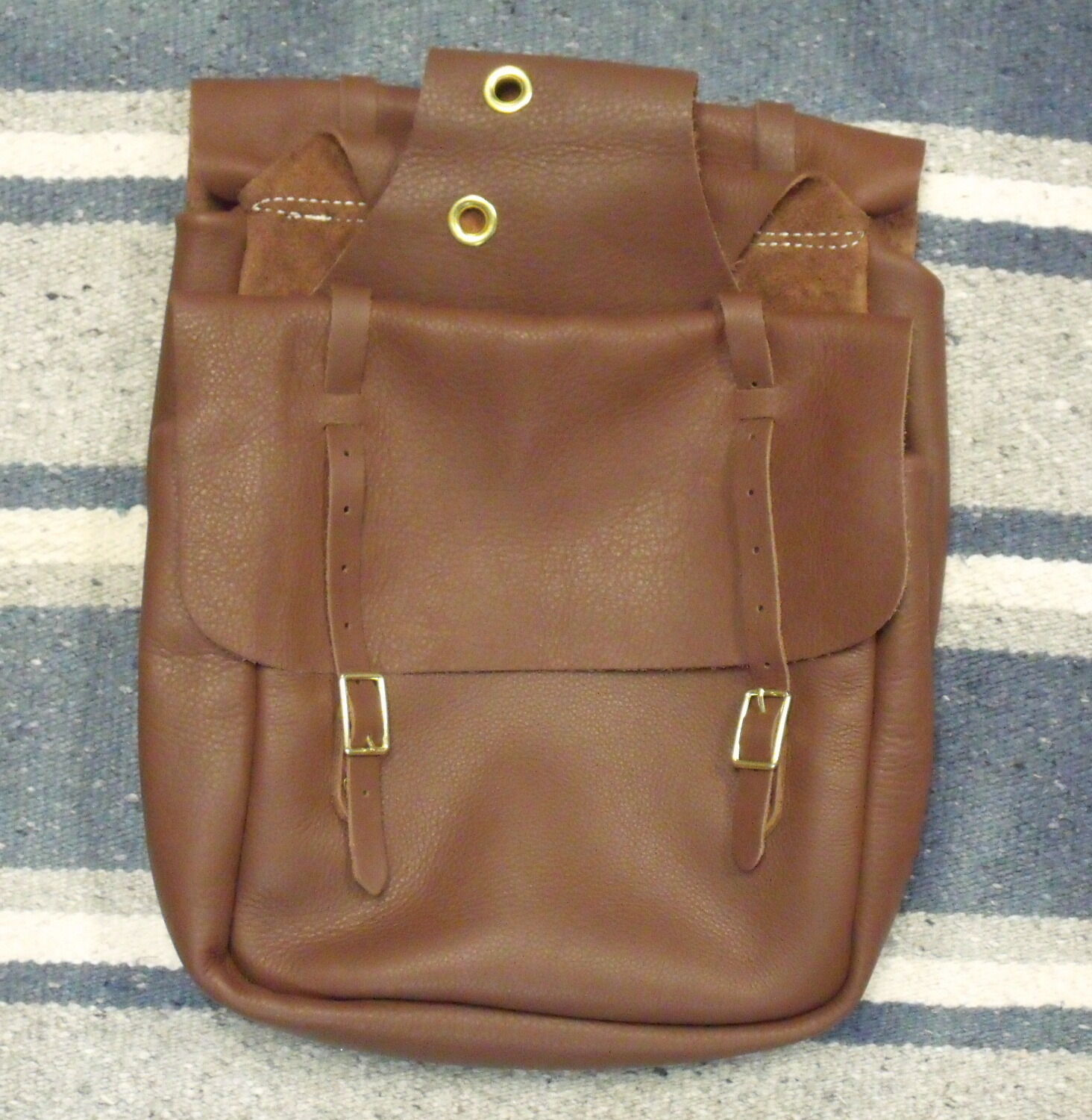 WEAVER LEATHER Marronee CHAP LEATHER SADDLE BAGS
