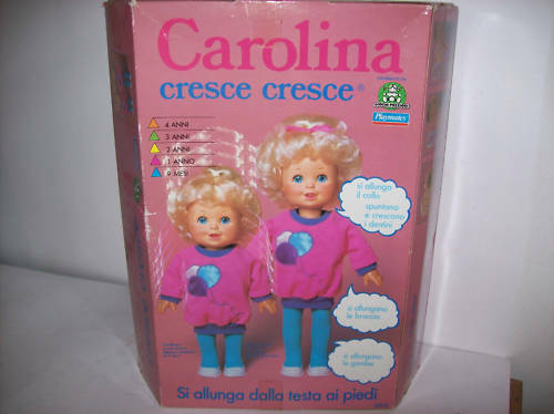 BAMBOLA CAROLINA CRESCE CRESCE  anno 1983