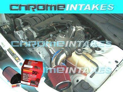 06 07 08 09 10 DODGE MAGNUM//CHARGER ALL 2.7 2.7L//3.5 3.5L V6 AIR INTAKE+K/&N