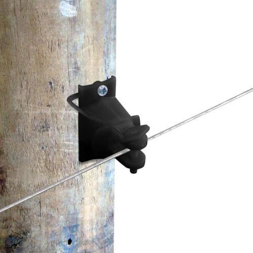 Black Wood Post Pinlock Insulator Patriot