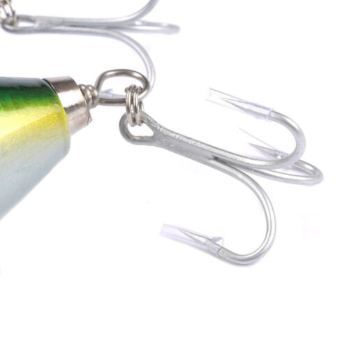 """Saltwater Lures Woodbody GT Popper TopWater lure Duty Heavy 145g 180mm 7/"""""""