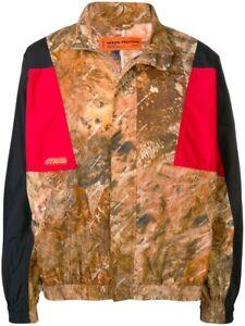 Official Heron Preston Camouflage Printed Light Tracksuit Zip Coat Jacket RARE L