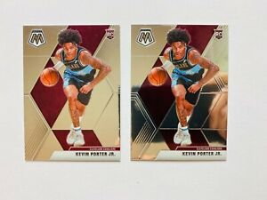 (2) 2019-20 Panini Mosaic Kevin Porter Jr. RC Lot #248, Cavaliers Star Rookie!