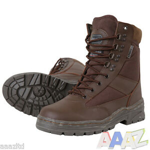 MILITARY-PATROL-BOOTS-BROWN-MTP-3M-THINSULATE-MENS-WALKING-BRITISH-ARMY-CADET