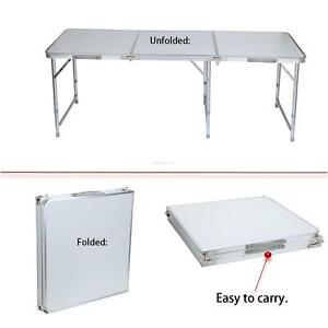 Folding Table Portable Indoor Outdoor Picnic Party Dining Camp Table