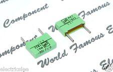 0.1µF 0,1uF 100nF 2pcs-Roederstein 250V 10/% Film Capacitor MKT1813 0.1uF ERO