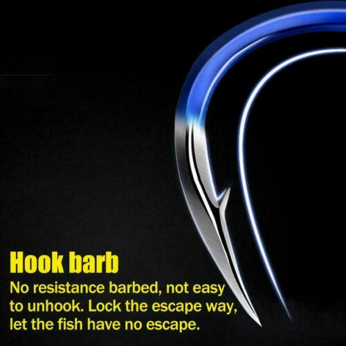 20pcs Sharped Forged Fishing Hooks High-carbon Steel Gifts Hook Fish F3S1