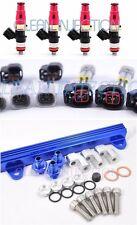 Toyota Celica MR2 ST185 3SGTE Blue ST165 650cc Fuel Injectors Rail 1-2nd gen GT4