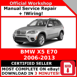 image is loading factory workshop service repair manual bmw x5 e70