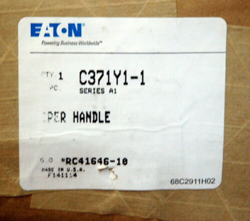 """4/"""" EATON C361H1 FLANGE MOUNTED OPERATING HANDLE DISCONNECT SWITCH C371Y1"""
