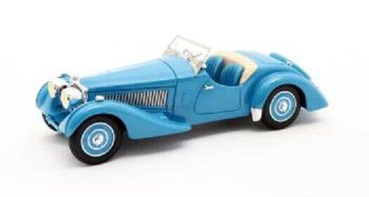 Modelos de matriz 1 43 1937 Bugatti Tipo 57S Córcega Roadster Malcolm Campbell.