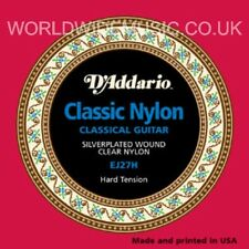 D'ADDARIO EJ27H cuerdas para guitarra clásica de nylon duro