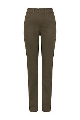 M/&S Khaki Straight Leg Jeans 6//10//20//22//24