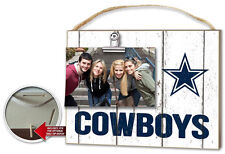 Dallas Cowboys Clip It Weathered Logo Photo Frame [NEW] NFL Picture Plaque