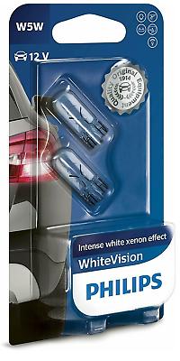 W5W T10 12V 5W PHILIPS SIDE LIGHT BULBS FOR Honda Civic BLUE 501/'s FRONT