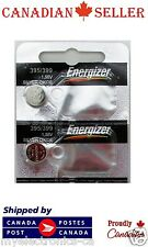 2 PC Genuine Energizer 395 399 D395 SR927SW V399 D399 Silver Oxide Watch Battery