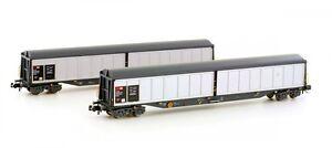 Hobbytrain-H-23450-SBB-Habils-Gueterwagen-2er-Set-NEUWARE-vom-Fachhaendler