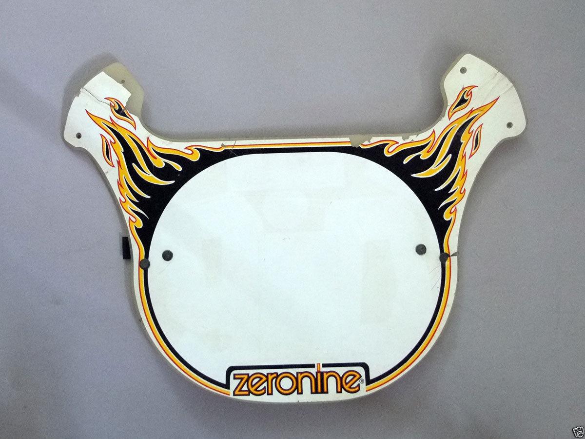 Rare Vintage, Old School BMX Bike Zeronine Number Plate