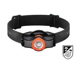 Ledlenser 502148 LED Kopflampe Stirnlampe MH3 Schwarz Orange 200 Lumen