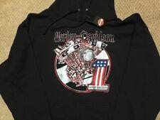 Harley Davidson #1 Engine Pullover Hoodie Sweatshirt Nwt Men's XXXL
