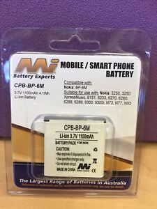 MOBILE-SMART-PHONE-BATTERY-CPB-BP-6M-3-7V-1100mAh-4-1Wh-FOR-NOKIA