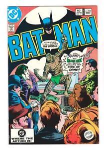 Image Is Loading BATMAN 359 NM 1st FULL COVER KILLER CROCand