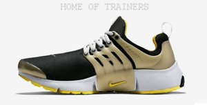 Nike-Presto-Qs-brutal-Amarillo-Negro-Air-78987000-Para-hombre-Zapatillas-Todos-Los-Tamanos-PTI