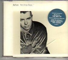 (CT173) Pet Shop Boys, Before - 1996 CD