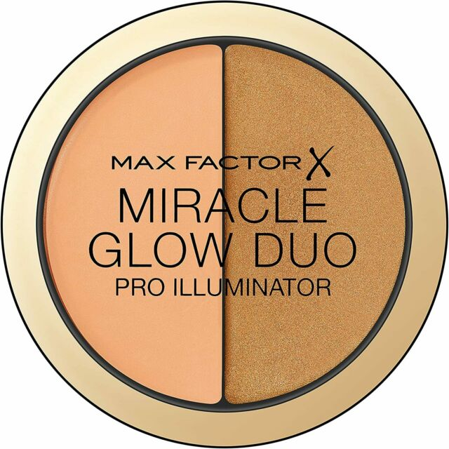 Max Factor Miracle Glow Duo Pro Illuminator Concealer & Highlighter 11g (DEEP)
