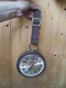 ancienne pendule wall clock uhr horloge murale design 70 39 s junghans ato mat ebay. Black Bedroom Furniture Sets. Home Design Ideas