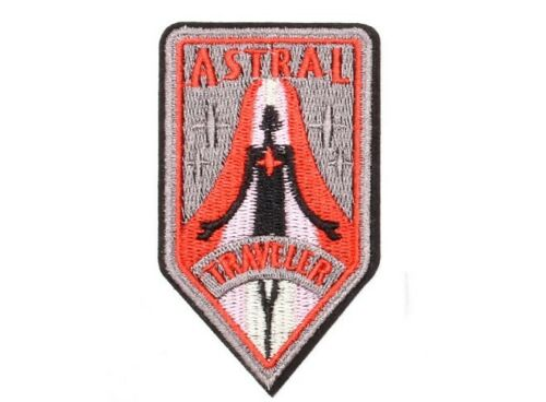 """1869 ASTRAL TRAVELER IRON ON PATCH 3.75/"""" Embroidered Applique"""