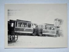 HALLE Germania TRAM tramway Straßenbahn treno vecchia foto 1