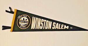 Custom-Designed-Winston-Salem-North-Carolina-Vintage-Style-Felt-Pennant-Souvenir