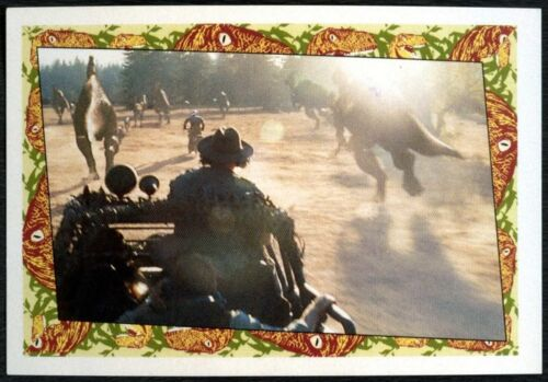 C1248 #77 Jurassic Park The Lost World 1997 Merlin Sticker