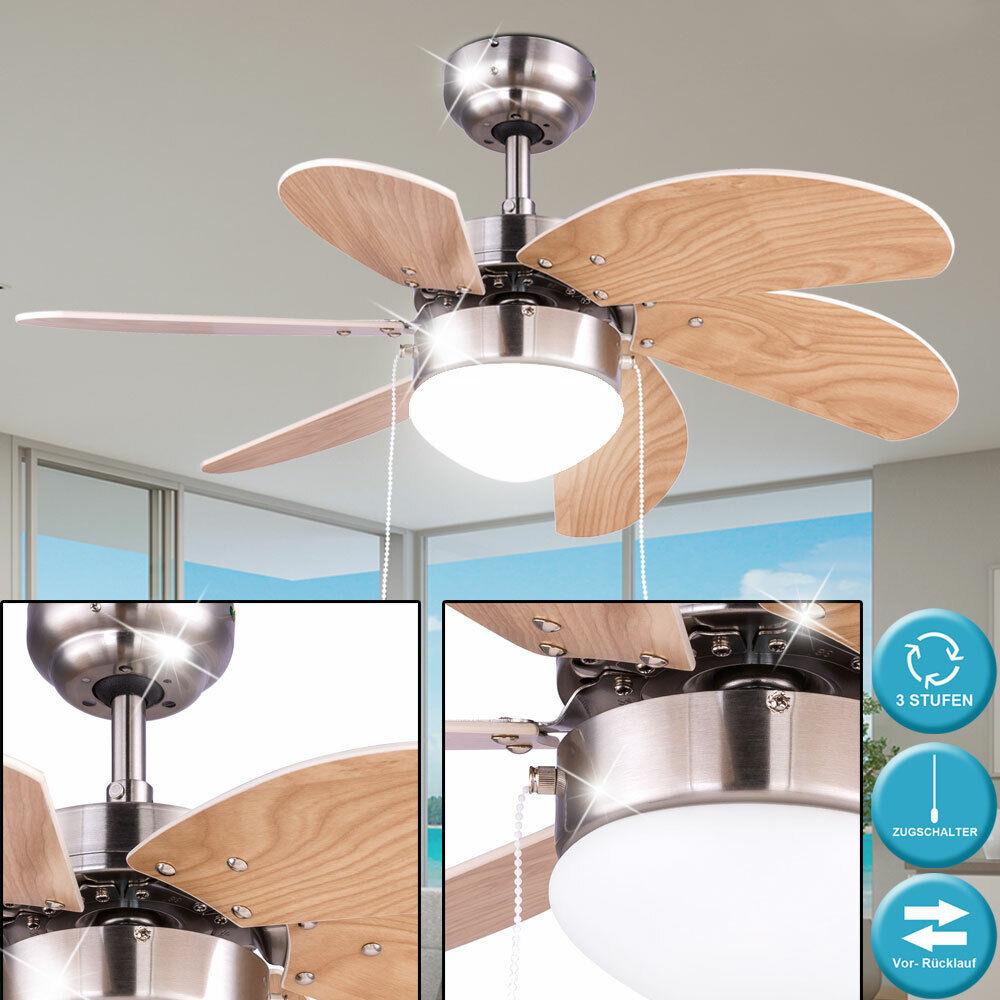 Ceiling fan lamp pull switch radiator heater bed room 3 stages fan light beech