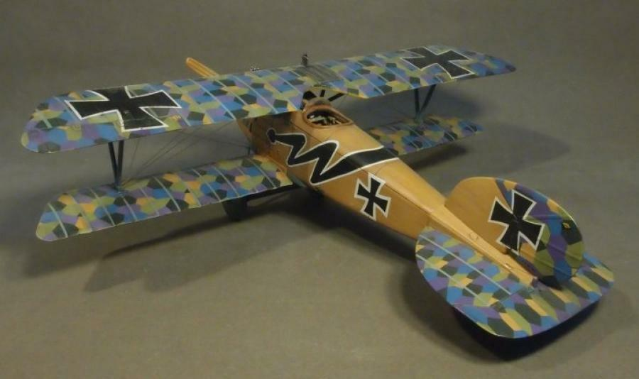 JOHN JENKINS WW1 KNIGHTS OF THE SKY ACE-41 WW1 GERMAN ALBATROS DIII FIGHTER MIB