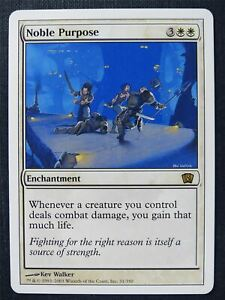 Noble Purpose - Mtg Magic Card #SS