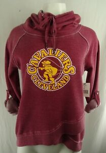Cleveland Cavaliers NBA Touch Women's Slouch Neck Sweatshirt