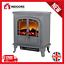 thumbnail 1 - Warmlite WL46019G 2000W Wingham 2-Door Portable Electric Fire Stove Heater - New