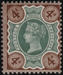 1887-JUBILEE-SG205a-4d-GREEN-amp-DEEP-PURPLE-BROWN-EXTREMELY-LIGHT-HINGE-K33-2